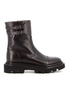 Fabiana Filippi - Studded ankle boots in brown