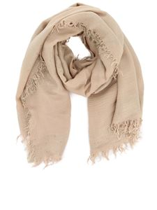 Peserico - Sequined scarf beige