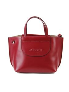 Tod's - Borsa shopping mini bordeaux