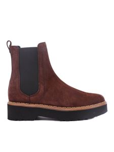 Tod's - Suede ankle boots in brown