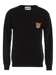 Moschino - Pullover Teddy Bear nero