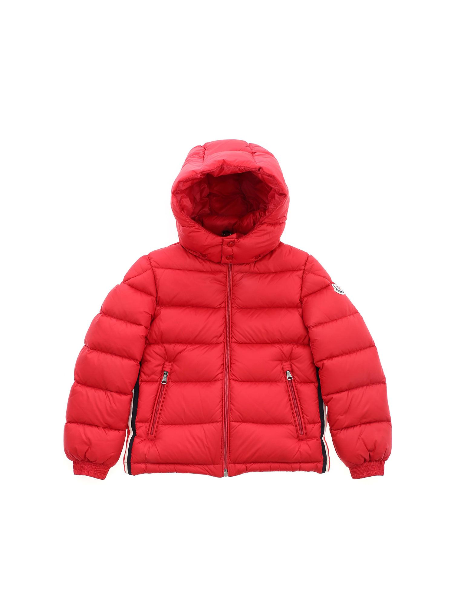 Moncler Jr Downs NEW GASTONET DOWN JACKET IN RED