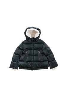 Moncler Jr - Clentra down jacket in dark green