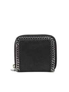 Stella McCartney - Falabella wallet in black