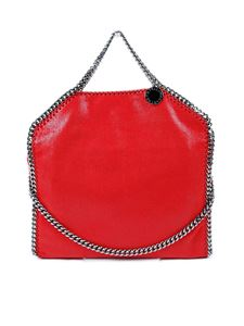 Stella McCartney - Fold Over Falabella bag in red