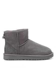 UGG - Classic Mini II ankle boots in grey