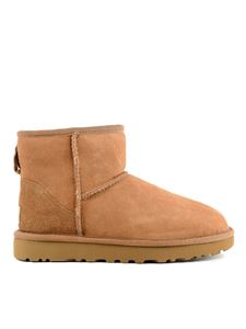 UGG - Classic Mini II ankle boots in brown