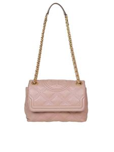 Tory Burch - Fleming Small shoulder bag in pink