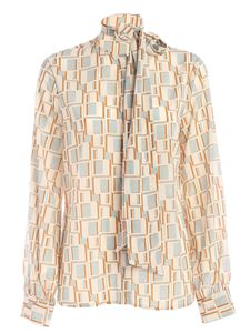 Ballantyne - Printed shirt in ivory color