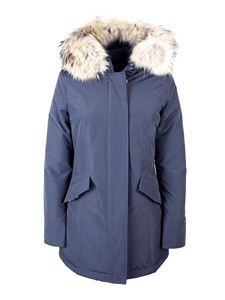 Woolrich - Racoon fur Arctic Parka down jacket in black