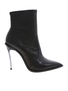 Casadei - Maxi Blade ankle boots in black