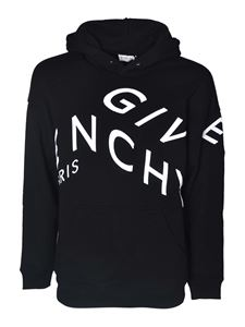 Givenchy - Logo hoodie in black