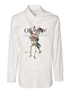 Off-White - Pascal Skeleton shirt in white