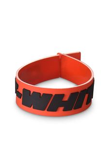 Off-White - Industrial bracelet in orange and black