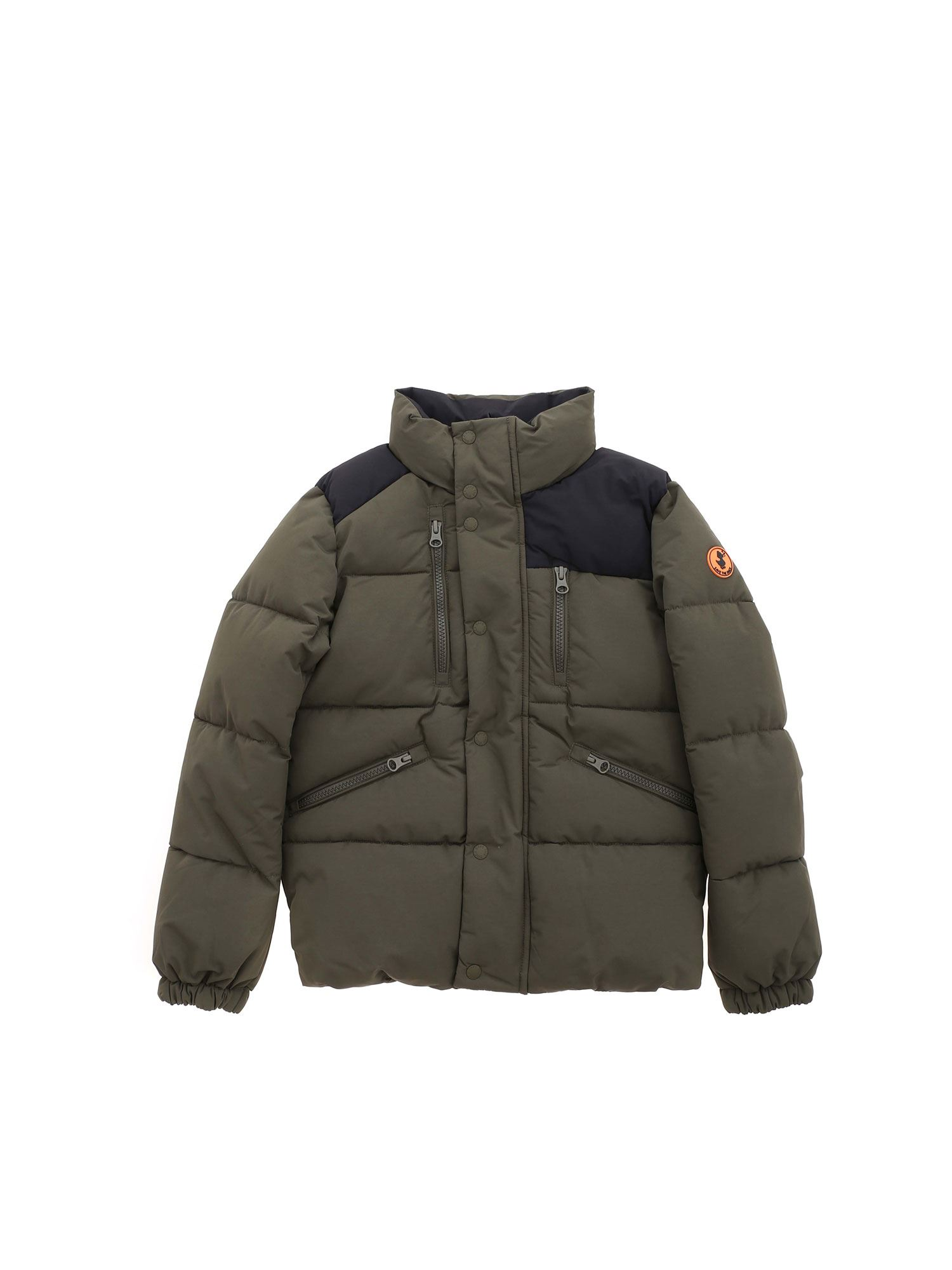 Save The Duck Downs ICONS COLLECTION QUILTED DOWN JACKET IN GREEN
