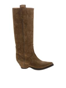 Maison Margiela - Sendra boots in brown