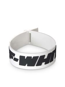 Off-White - 2.0 Industrial bracelet in black and white