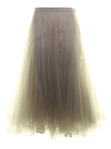 Fabiana Filippi - Tulle skirt in grey