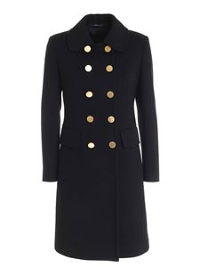Tagliatore - Holly double-breasted coat in black