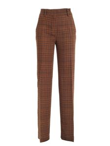 True Royal - Loulou palazzo pants in brown