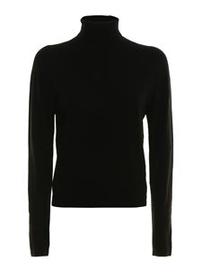 Ermanno Scervino - Viscose blend turtle neck in black