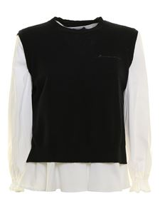 Ermanno Scervino - Stretch cotton jumper in black