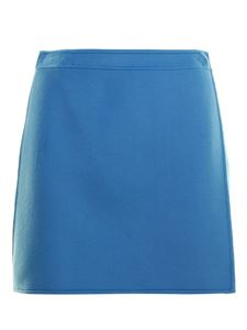 Ermanno Scervino - Wool mini skirt in light blue