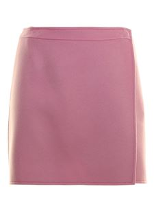 Ermanno Scervino - Wool mini skirt in pink