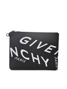 Givenchy - Branded pouch in black