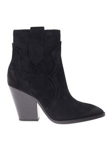 Ash - Esquire ankle boots in black