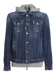 Dsquared2 - Dan denim jacket in light blue