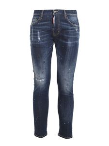 Dsquared2 - Skater jeans in blue