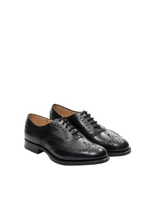 Church's - Derby leather shoes