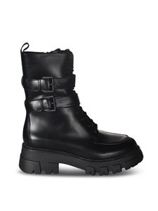 Ash - Lars ankle boots in black