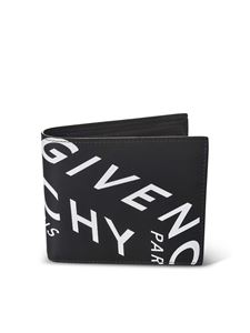 Givenchy - Givenchy Refracted wallet in black