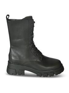 Ash - Liam ankle boots in black