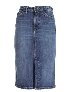 Tommy Hilfiger - Lucy denim skirt in blue