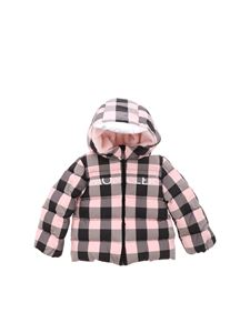 Moncler Jr - Avila teddy-effect down jacket in pink
