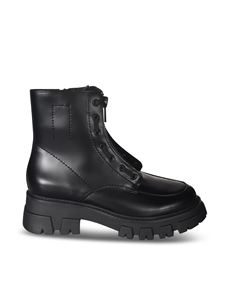 Ash - Lynch ankle boots in black