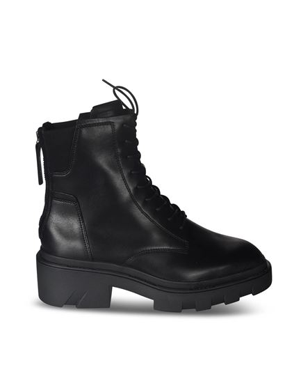 Ash - Moody ankle boots in black