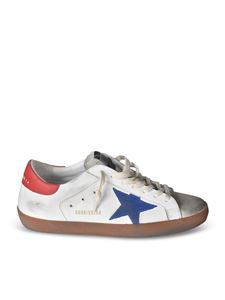 Golden Goose - Superstar Classic sneakers with blue logo star