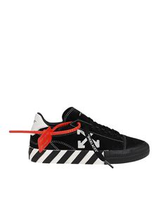 Off-White - Sneakers New Arrow Low Vulcanized nere