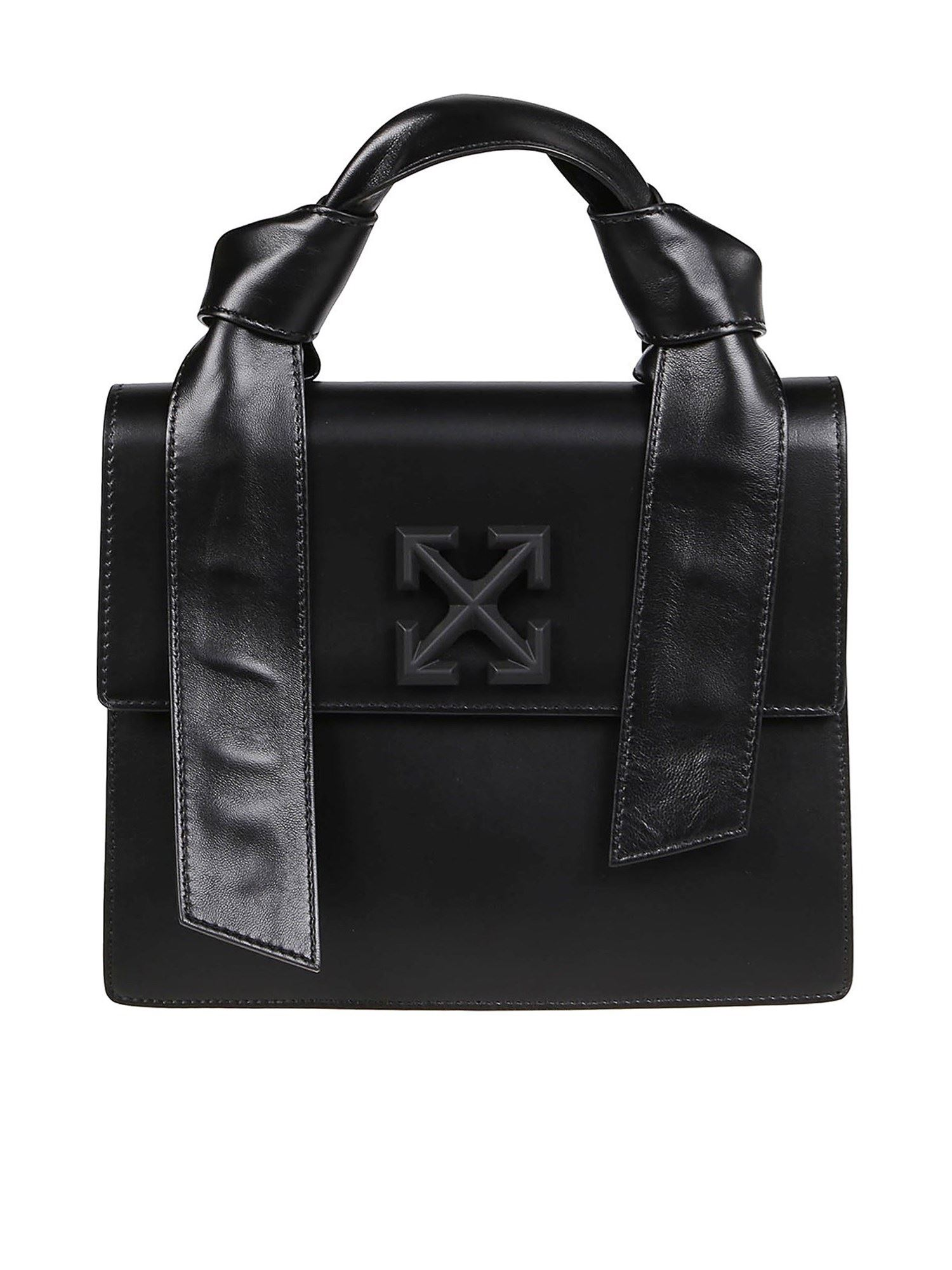 Off-White Leathers NEW JITNEY 2.8 BAG IN BLACK