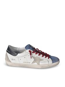Golden Goose - Superstar Classic sneakers in white and blue