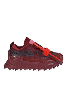 Off-White - Sneakers Odsy-1000 rosse