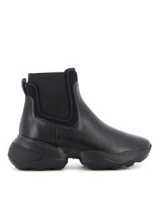 Hogan - Interaction Chelsea boots in black