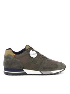Hogan - H383 H Nastro sneakers in green