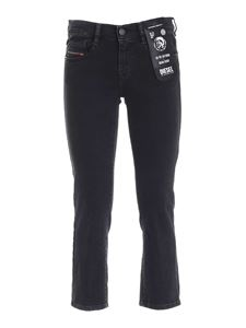 Diesel - D-Ebbey-ky jeans in black