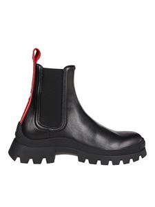 Dsquared2 - Calf leather ankle boots in black