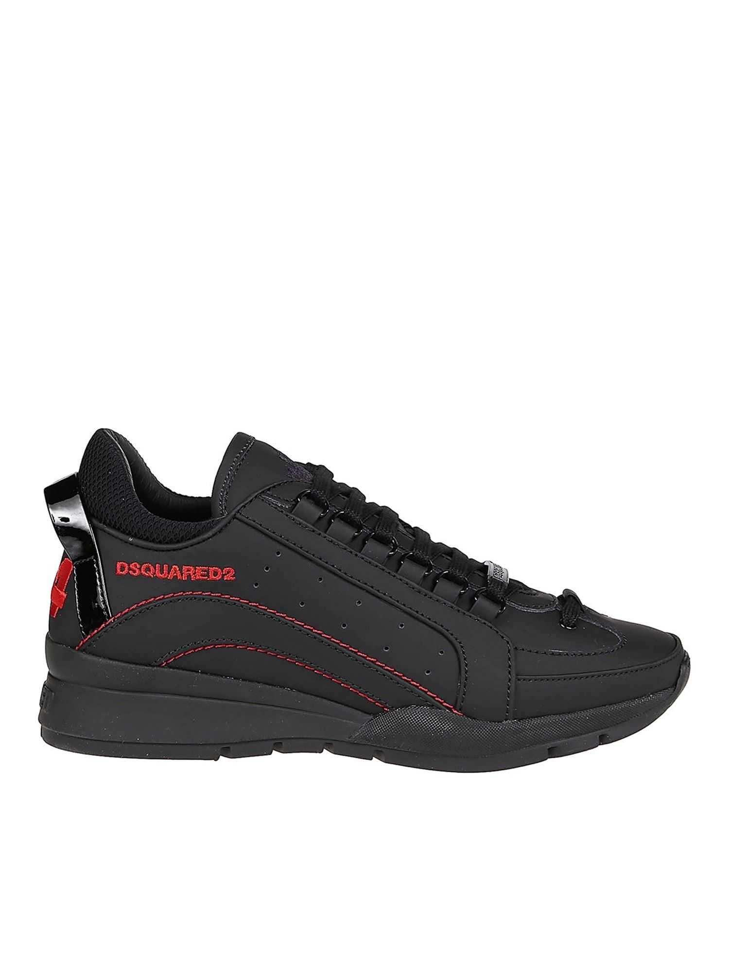 Dsquared2 Leathers 551 SNEAKERS IN BLACK